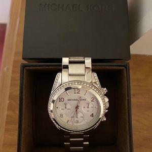 Michael Kors oversized Blair watch. Lightly worn.